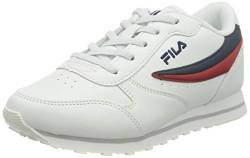FILA Orbit JR Unisex-Kinder Sneaker, Weiß (White/Dress Blue - 98F), 36 EU von Fila