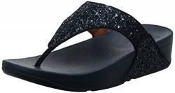Fitflop Damen Lulu Glitter Toe-thongs Sandalen, Blau (Midnight Navy 399), 37 EU von Fitflop