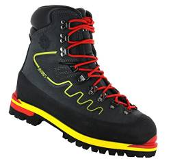 Fitwell Antares steigeisenfeste Bergschuhe/Alpinstiefel mit Vibramsohle Made IN Italy (UK 8 - EU 42) von Fitwell