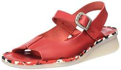 FLY London Damen CULT398FLY Sandalen, Rot Lipstick Red Red Midsole 006, 40 EU von FLY London