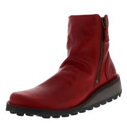 Fly London Damen Mong944fly Stiefel, Rot (Red), 38 EU (Herstellergröße: 5 UK) von FLY London