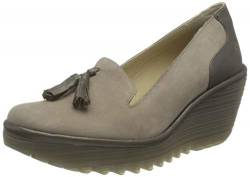 FLY London Damen YAMO293FLY Slipper, Beton Zinn, 41 EU von FLY London