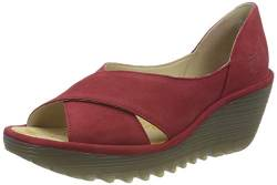 Fly London Damen YOMA307FLY Sandale, Rot-Lipstick Red, 36 EU von FLY London