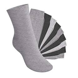 Footstar 10 Paar EVERYDAY! KIDS Kinder Socken - Classic Grey 23-26 von Footstar