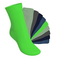 Footstar 10 Paar EVERYDAY! KIDS Kinder Socken - Cool Colours 23-26 von Footstar