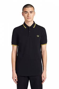 Fred Perry Herren M3600-506-xs Poloshirt, Schwarz (Black 506), X-Small von Fred Perry