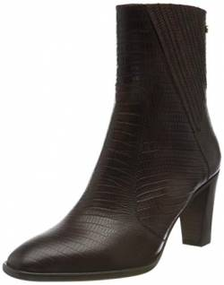 Fred de la Bretoniere Damen FRS0813 Ankle Boot 8 cm Printed Leather, Brown, 37 EU von Fred de la Bretoniere