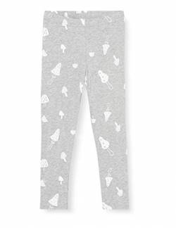 Fred's World by Green Cotton Baby-Girls Mushroom Leggings, Grey Melange, 74 von Fred's World by Green Cotton