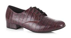 Freed of London Herren Kelly Tanzschuh, Burgundy, 29 EU Wide von Freed of London