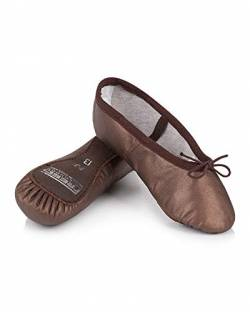 Freed of London Mädchen Aspire Tanzschuh, Brown, 27.5 EU von Freed of London