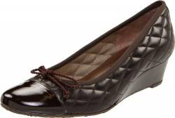 French Sole FS/NY Damen Deluxe, Braunes Lack/braunes Kalbsleder, 37 EU von French Sole FS/NY