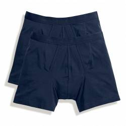 Fruit of the Loom Herren Boxershorts Classic Boxer (2er Pack) 67-026-7 Navy/Navy M von Fruit of the Loom