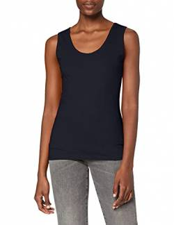 Fruit Of The Loom Lady-Fit Valueweight, Damen Tank-Top,Blau (Deepnavy Az),Small von Fruit of the Loom