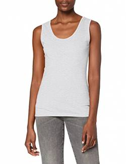 Fruit Of The Loom Lady-Fit Valueweight, Damen Tank-Top,Grau (Graumeliert 94),X-Small von Fruit of the Loom