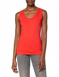 Fruit Of The Loom Lady-Fit Valueweight Damen Tank-Top XL,Rot von Fruit of the Loom