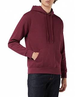 Fruit Of The Loom Herren Kapuzen Pullover Premium 70/30 (M) (Burgunder) von Fruit of the Loom