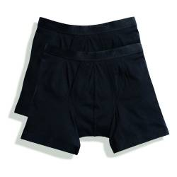 Fruit of the Loom Classic Boxershorts (4er Pack), Größe:M;Farbe:4xBlack von Fruit of the Loom