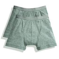 Fruit of the Loom Classic Boxershorts (4er Pack), Größe:XL;Farbe:4xLight Grey Marl von Fruit of the Loom