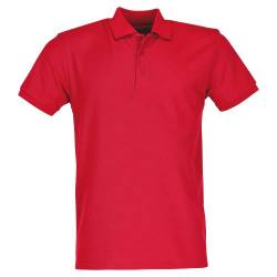 Fruit of the Loom Heavy Polo Shirt, Rot, Gr.XL von Fruit of the Loom