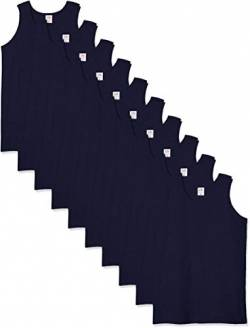 Fruit of the Loom Herren 10 Pack Weste, Blau (Navy Az), XXL (10er Pack) von Fruit of the Loom