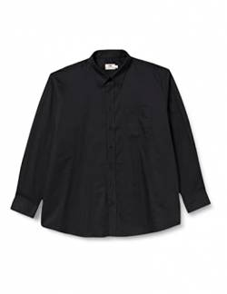 Fruit of the Loom Herren Businesshemd Oxford, Schwarz (Black), XL von Fruit of the Loom