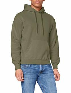 Fruit of the Loom Herren Kapuzenpullover, Grün (Classic Olive), Medium von Fruit of the Loom