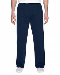 Fruit of the Loom Herren Leicht Joggen Sweatpants Gr. Medium, Dunkles Marineblau von Fruit of the Loom