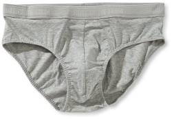 Fruit of the Loom Herren Pant 2 er Pack 170187, Gr. 7 (XL), Grau (L2 Light Grey Marl) von Fruit of the Loom