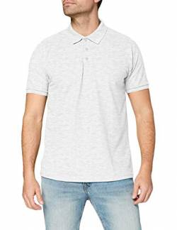 Fruit of the Loom Herren Poloshirt 65/35, Grau(grau meliert), Large von Fruit of the Loom