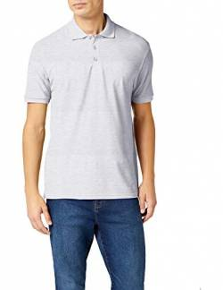 Fruit of the Loom Herren Poloshirt, Grau (Heather Grey), Medium von Fruit of the Loom