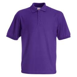 Fruit of the Loom Herren 65/35 Poloshirt, Violett-Violett, XL von Fruit of the Loom