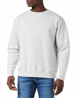 Fruit of the Loom Herren Set In Sweat Sweatshirt, Grey (Heather Grey), XXX-Large von Fruit of the Loom