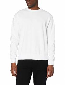 Fruit of the Loom Herren Sweatshirt 12200B, Gr. 44/46 (S), Weiß (30 weiss) von Fruit of the Loom