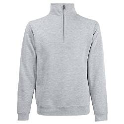 Fruit of the Loom Herren Sweatshirt Ss108m, Grau (Heather Grey), L von Fruit of the Loom