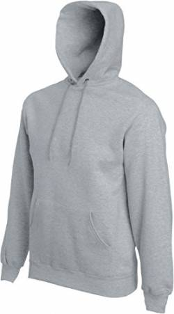 Fruit of the Loom Hooded Sweat Graumeliert - S von Fruit of the Loom