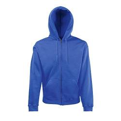 Fruit of the Loom - Hooded Sweat Jacket - Modell 2013 M,Royal Blue von Fruit of the Loom