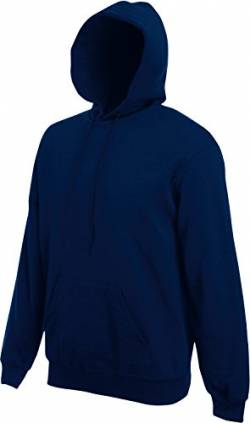 Fruit of the Loom Hooded Sweat Navy - XL von Fruit of the Loom