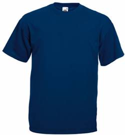 Fruit of the Loom Valueweight T-Shirt Navy XXL von Fruit of the Loom