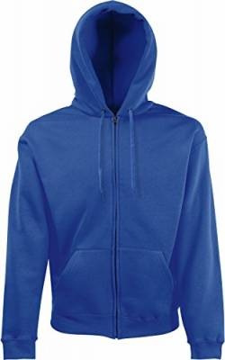 Fruit of the Loom: Hooded Zip Sweat 62-034-0, Größe:2XL;Farbe:Royal von Fruit of the Loom
