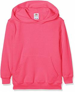 Fruit of the LoomMädchen Sweatshirt Rosa Fuchsia von Fruit of the Loom