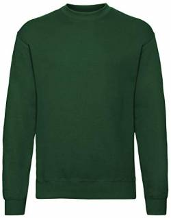 Fruit of the loom Herren Sportjacke Set - in Sweat 62 - 202 - 0, Gr. X-Large, Grün (Bottle Green 38) von Fruit of the Loom