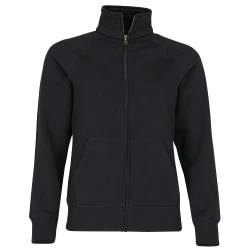 Premium Sweatjacke Lady-Fit - Farbe: Black - Größe: L von Fruit of the Loom