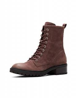 Frye and Co. Damen Kampfstiefel, Anis, Violett (aubergine), 38.5 EU von Frye and Co.