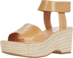 Frye and Co. Damen Amber Espadrille Keilsandalen, Braun (caramel), 40.5 EU von Frye and Co.