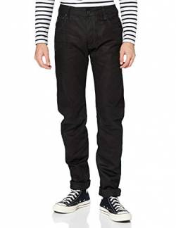 G-STAR Herren Jeanshose Arc Zip 3D Slim, Schwarz (Hoist Black Denim In Medium Aged), 30W / 34L von G-STAR RAW