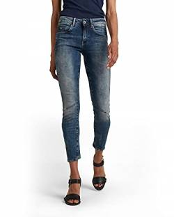 G-STAR RAW Damen Arc 3D Mid Waist Skinny Jeans, Medium Aged (071), 26W / 30L von G-STAR RAW