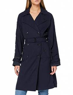 G-STAR RAW Damen Duty Classic Trench Mantel, Blau (Sartho Blue B436-6067), Large von G-STAR RAW