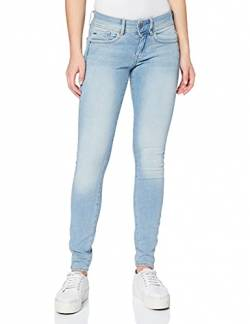 G-STAR RAW Damen Lynn Mid Waist Super Skinny Jeans, Blau (Sun Faded Blue 9136-A587), 25W / 30L von G-STAR RAW