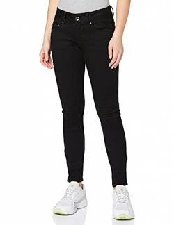 G-STAR RAW Damen Midge Cody Mid-Waist Skinny Jeans, Schwarz (Pitch Black B964-A810), 26W / 30L von G-STAR RAW
