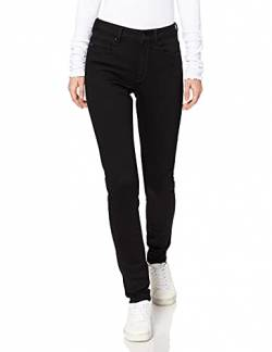 G-STAR RAW Damen Shape High Waist Super Skinny Jeans, Schwarz (Rinsed 9142-082), 28W / 34L von G-STAR RAW